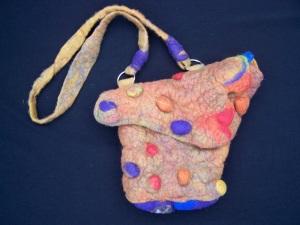 Vilten tas / Felted handbag
