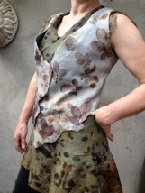 EcoPrint Garment Carla van Belle