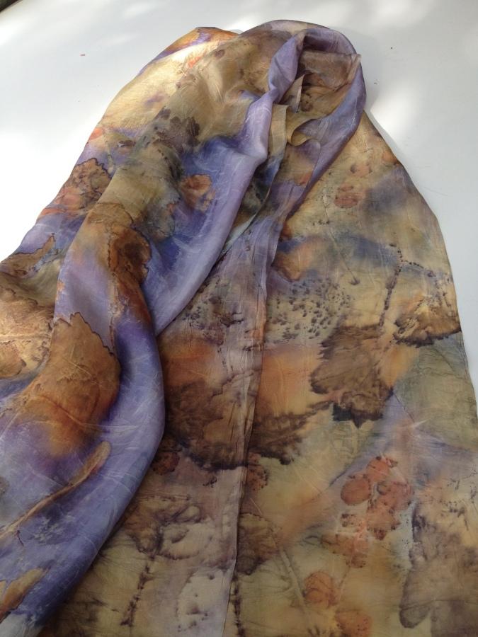 EcoPrint Natural dye natuurlijk verven Carla-van-Belle