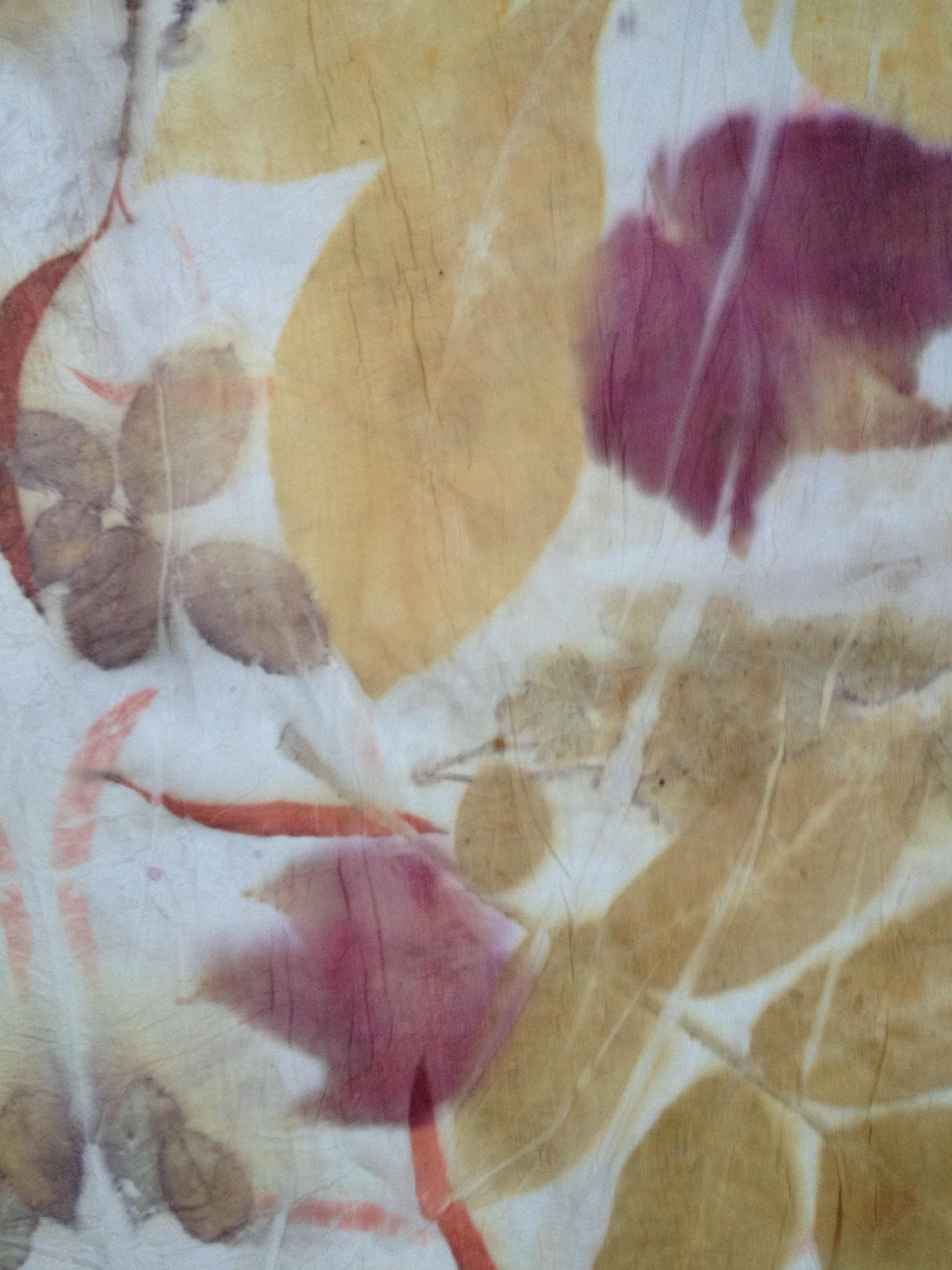 ecoprinten zijde