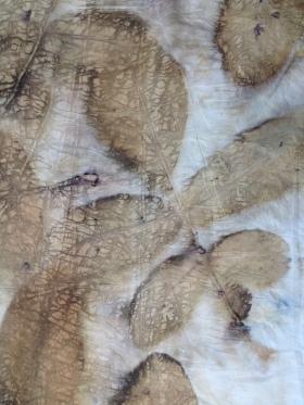 10 ecoprint walnut indigo