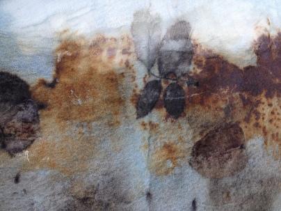 15 Detail EcoPrint Indigo Dye