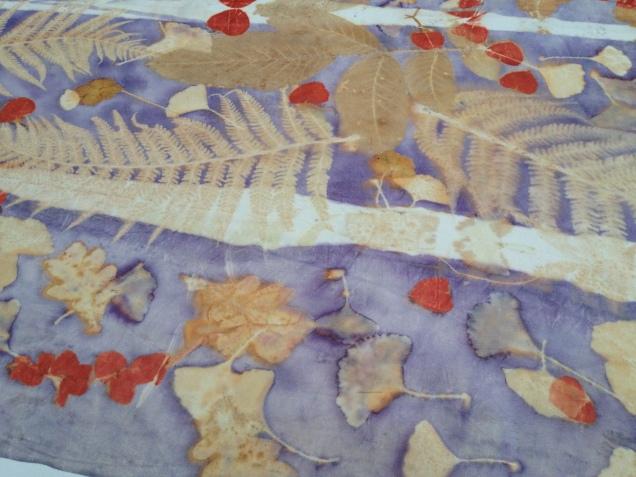 Ecoprint, Natural Dye, planten printen