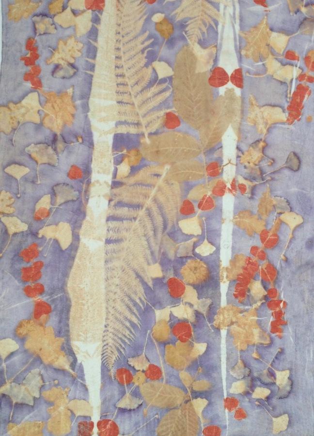 ecoprint TWINS 2 sjaals uit één bron