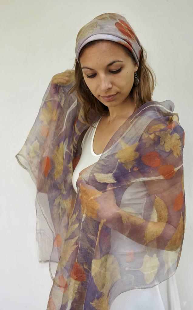 ecoprint scarve