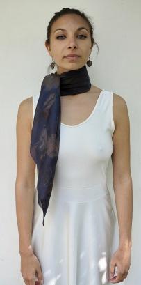 ecoprint scarf sjaal