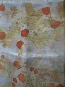 botanical print plantaardig verven