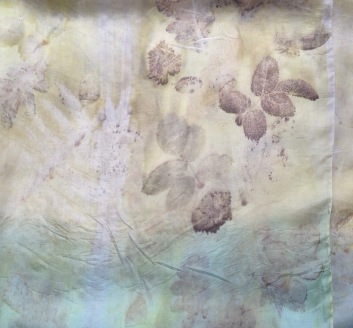 indigo weld wouw ecoprint plantaardig printen