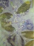 pongé 8 zijden sjaal groen