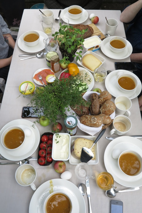 biologische lunch