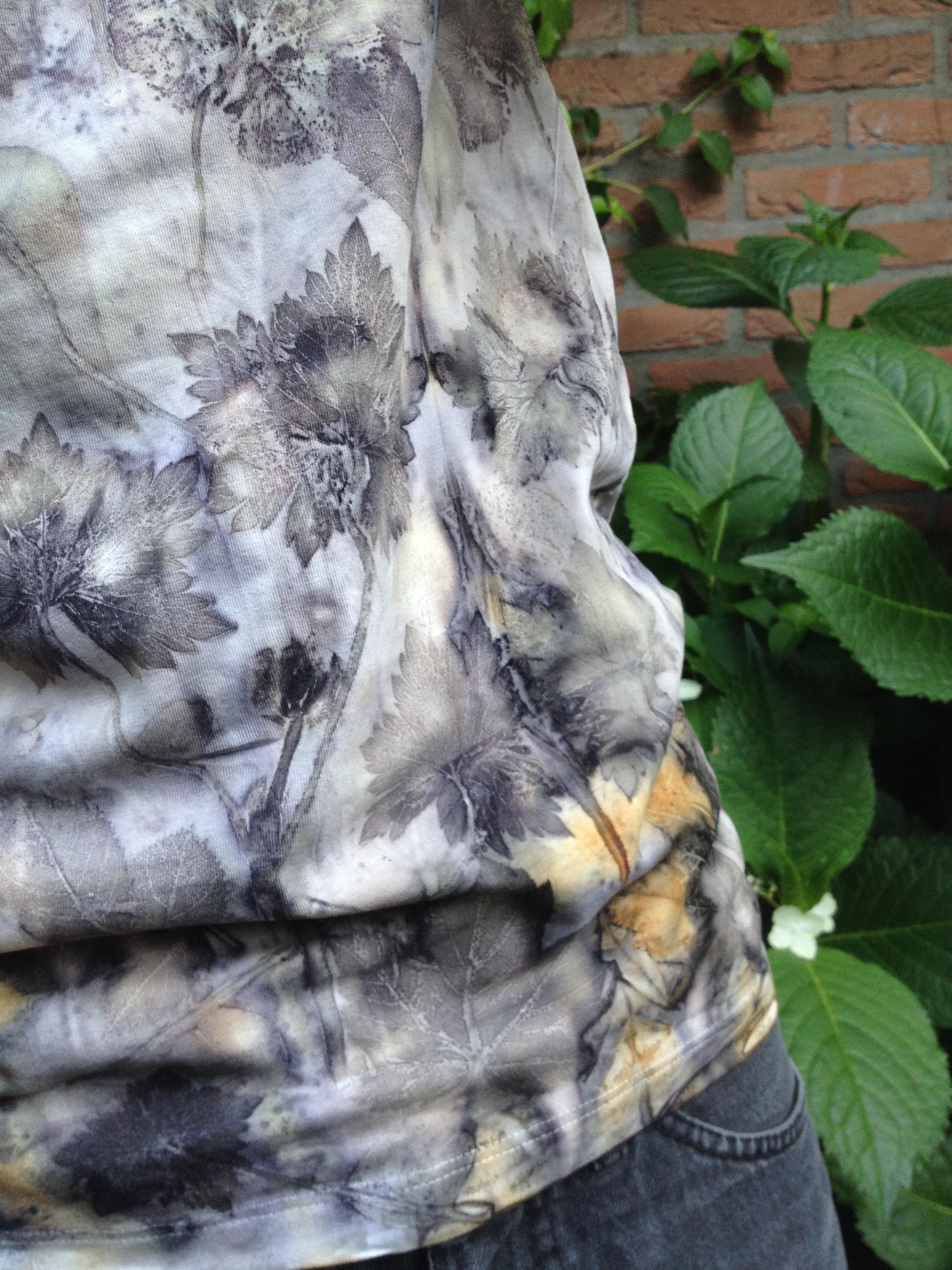 Ecoprint t-shirt