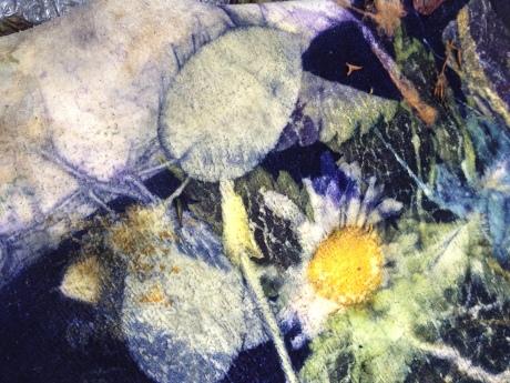 EcoPrint Leer Blauw