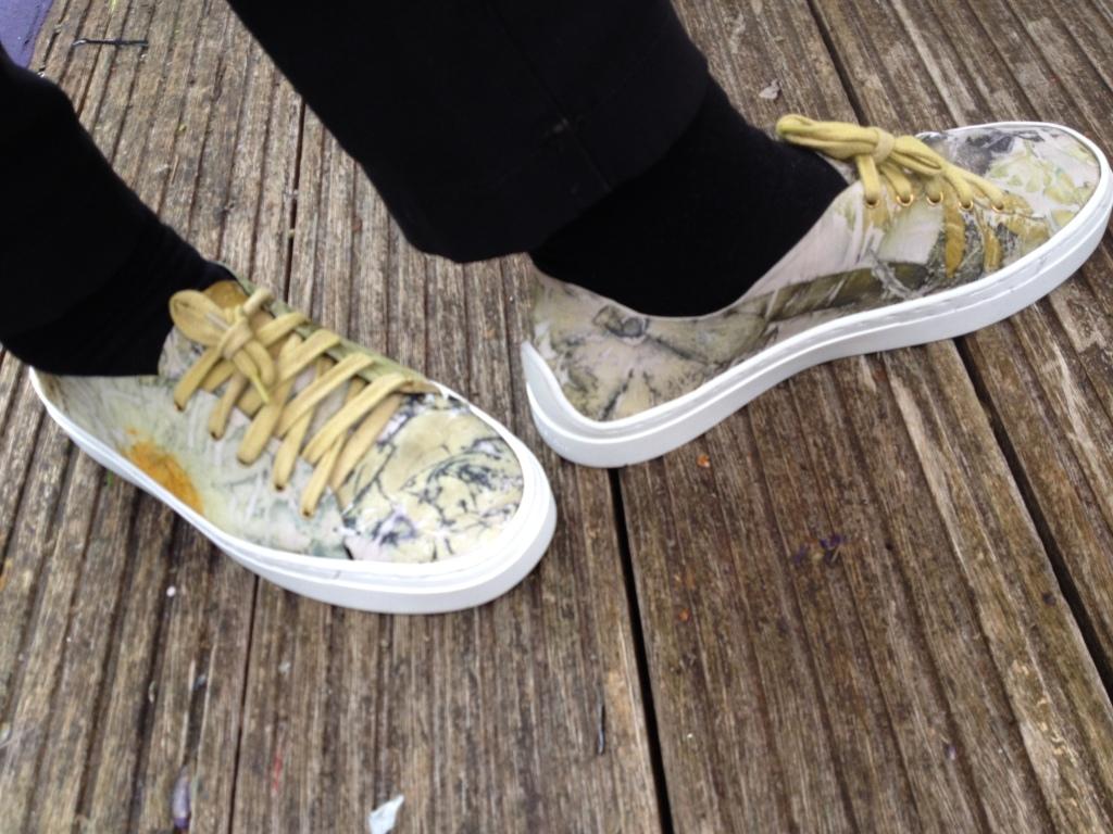 Ecoprint schoenen