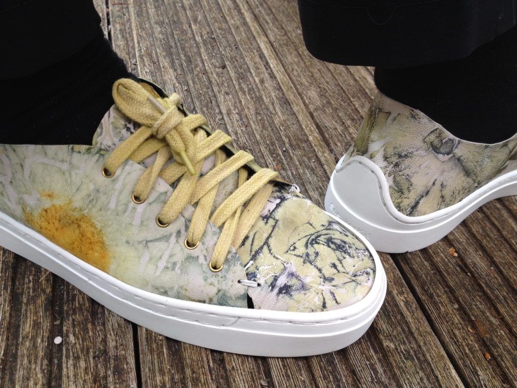 Ecoprint shoes
