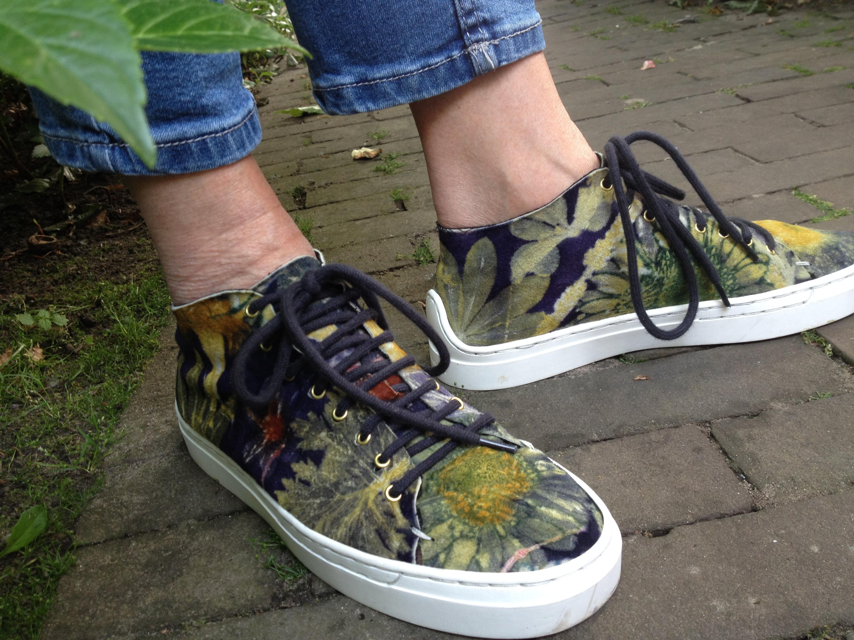 ecoprint leer schoenen